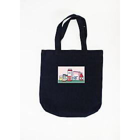 Túi Tote Nữ Breakfast Club SuviTote126 - Đen (37 x 41 cm)