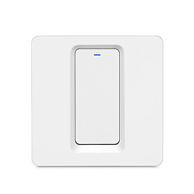 WiFi Smart Home Light Switch Push Button Smart Life/Tuya APP Remote Control Wall Switch Compatible with Alexa Google