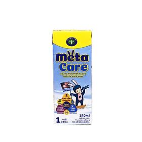 Thùng sữa nước pha sẵn Nutricare Metacare - phát triển toàn diện cho trẻ từ 1 tuổi (180ml x 48 hộp)