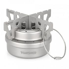Bếp Cồn Cắm Trại Mini Bằng Titan TOMSHOO