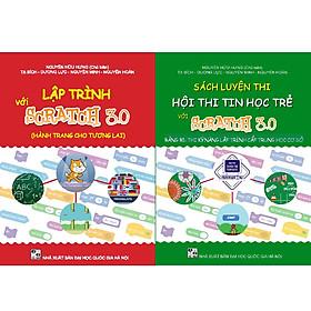 Combo sách Luyện thi hội thi tin học trẻ với Scratch 3.0 cấp THCS