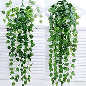 Bộ 2 bó dây leo hoa giả hoa nhựa MeeFlower