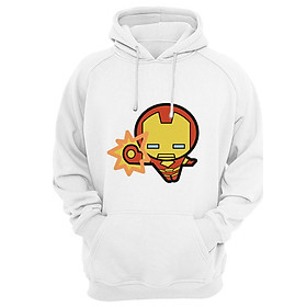Áo Hoodie Người Sắt Chibi Ironman Marvel