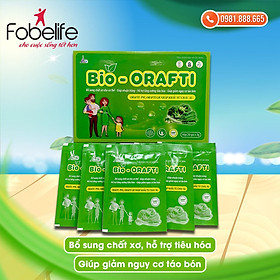Gói cốm bổ sung chất xơ, hỗ trợ tiêu hóa, giúp giảm táo bón BIO- ORAFTI- hộp/ 20 gói