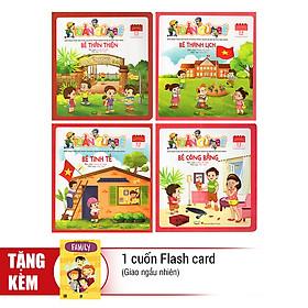 Combo Tuần Của Bé Tháng 9 (Trọn Bộ 4 Cuốn) - Tặng 1 Cuốn Flash Card Ngẫu Nhiên
