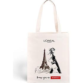 Túi Tote L'Oreal Paris Because You Worth It