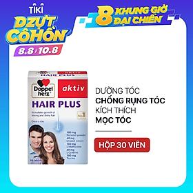 Viên uống chống rụng tóc và kích thích mọc tóc Doppelherz Aktiv Hair Plus (Hộp 30 viên)