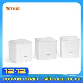 Bộ 3 Cái Phát Wifi Dạng Lưới Mesh Tenda Nova MW3 AC1200 - Hàng Nhập Khẩu