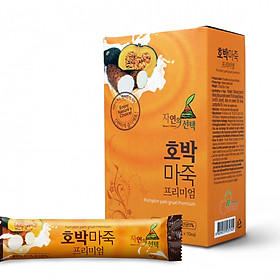 Bột ngũ cốc Hàn Quốc N-Choice bí đỏ 300g - hộp 10 gói x 30g/gói