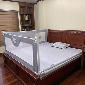 Thanh chắn giường Umoo, khung chắc chắn cho bé ngủ và chơi an toàn (Giá 1 thanh)