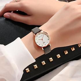 Đồng hồ nữ thời trang 2020 quyến rũ dây da Pu cao cấp