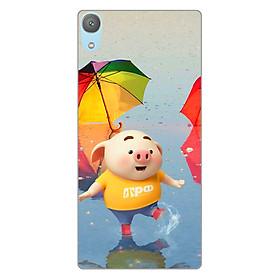 Ốp lưng dẻo cho điện thoại Sony XA1 Plus_ Pig 23
