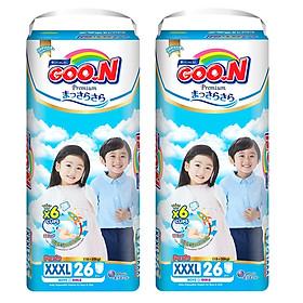 2 Gói Tã Quần Goo.n Premium Gói Cực Đại XXXL26 (26 Miếng)