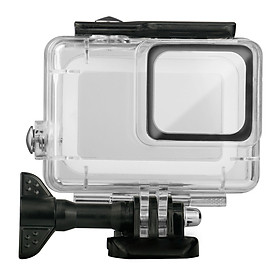 Vỏ Bọc Camera Hành Trình GoPro Hero 7 Bạc/Trắng Chống Thấm Nước 45M
