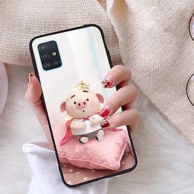 Ốp lưng dành cho Samsung Galaxy A51 viền dẻo TPU Bộ Sưu Tập Lợn Tết - Hàng chính hãng
