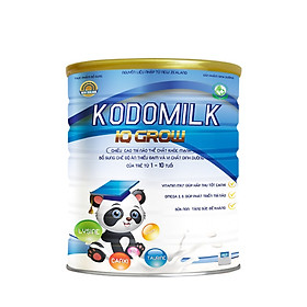 2 Hộp Sữa dinh dưỡng KODOMILK – IQ GROW 900G