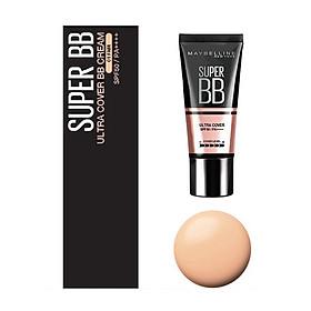 Kem Nền Maybelline Super BB Ultra Cream Cover SPF50 PA++++ 30ml Trang Điểm Hoàn Hảo PM711-4