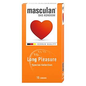 Bao Cao Su Masculan Das Kondom Long Pleasure (10 Cái/ Hộp)