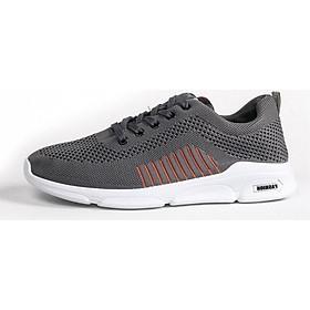 Giày Sneaker Nam Thời Trang Thể Thao YAMET SN955 Màu Xám