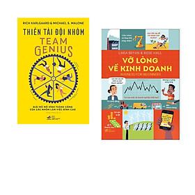 Combo 2 cuốn sách: Thiên tài đội nhóm + Vỡ lòng về kinh doanh