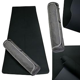 Thảm Yoga Định Tuyến Cao Cấp, Thảm Tập Yoga, Tập Gym 2 Lớp  Chất Liệu TPE + Dây Buộc Thảm  + Túi Đựng Thảm Cao Cấp (Túi giao màu ngẫu nhiên).