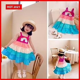 Đầm bé gái dễ thương 2021.