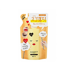 Dầu Tẩy Trang Rosette Sugoff Cleansing Oil Refill Pack 180g