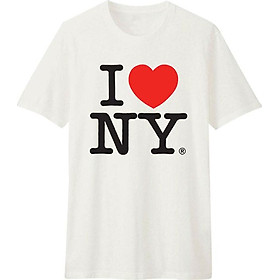 Áo T-shirt Unisex Dotilo I LOVE NY - B349