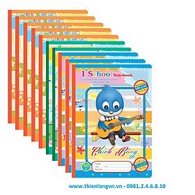 10 quyển vở 4 ô ly Chích Bông 80 trang – TP056