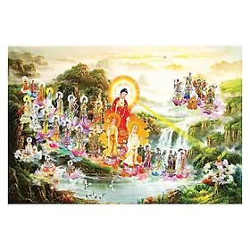 Tranh Phật Giáo Tây Phương Tiếp Dân 553