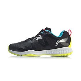 Giày cầu lông Lining AYTQ003-2 mẫu mới, hàng chính hãng, dành cho nam, màu đen, đủ size