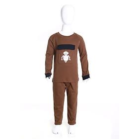 Bộ thu đông cho bé trai KE9054, Hàng Việt Nam chất lượng cao, chất liệu Cotton Enzym 30D cao cấp, cực mềm mại ấm áp, an toàn làn da cho bé, sản phẩm được sản xuất bởi hãng thời trang Narsis