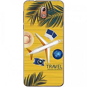 Ốp lưng dành cho  Nokia 3.1 mẫu Máy bay