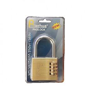 Ổ khóa mã số dọc đồng nguyên khối 60mm Airhua (Có thể thay đổi mã khóa)