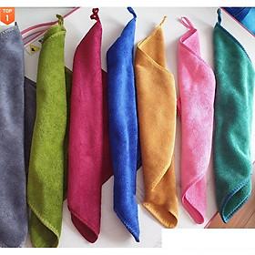 COMBO 5 Khăn lau  đa năng, khăn lau kính, khăn Spa, Salon tóc[Giao màu ngẫu nhiên]