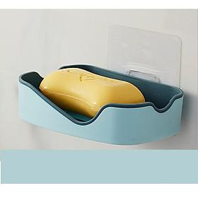 Khay để xà bông, hộp đựng xà phòng 2 Lớp sang trọng không lo bị đọng nước trong khay GD295-KXaBong-2Lop Giao ngẫu nhiên