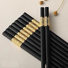 Combo 30 đôi đũa khảm vàng - Đũa ăn ăn cơm  viền vàng