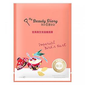 Hình đại diện sản phẩm Miếng Mặt Nạ Tổ Yến Hoàng Gia Dưỡng Toàn Diện My Beauty Diary Imperial Birds Nest Emolliating Mask