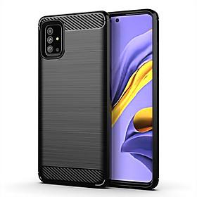 Ốp Lưng Chống Sốc Vân Cabon Dành Cho Điện Thoại Samsung Galaxy A51