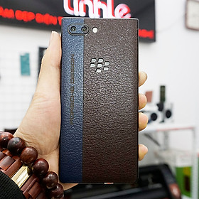 Dán da dành cho Blackberry key2 - da bò thật