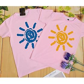 Áo Phông Đôi Mặt Trời I3175