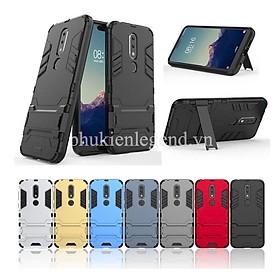 Ốp lưng chống sốc Iron Man cho Nokia 6.1 Plus