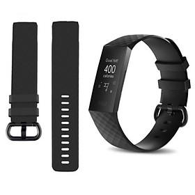 Quai Đồng Hồ Thông Minh Silicone Thay Thế Cho Fitbit Charge 3