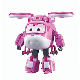 Robot Biến Hình Cỡ Lớn Có Đèn Và Âm Thanh - Kim Cảnh Sát Superwings YW740434