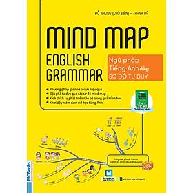 Hình ảnh Mindmap English Grammar - Ngữ Pháp Tiếng Anh Bằng Sơ Đồ Tư Duy (Tặng Thước Đo Thị Lực, Chiều Cao)