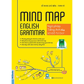 Mindmap English Grammar - Ngữ Pháp Tiếng Anh Bằng Sơ Đồ Tư Duy (Học Kèm App MCBooks Application) (Cào Tem Để Mở Quà) (Tặng Kèm Cây Viết Kute)