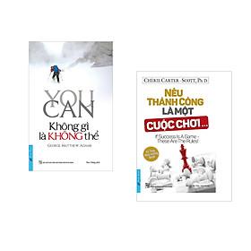 Combo 2 cuốn sách: You Can - Không Gì Là Không Thể + Nếu Thành Công Là Một Cuộc Chơi