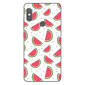 Ốp lưng dẻo cho điện thoại Xiaomi Redmi Note 5 Pro_0332 WATERMELON01