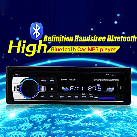 Bluetooth Car MP3 Player Audio Stereo 4X60W Car Radio 12V In-dash 1 Din FM Aux Input Receiver