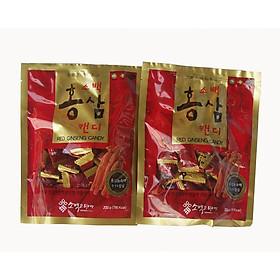 Combo 2 Gói Kẹo Hồng Sâm Sobaek Candy Ginseng TP0013 (200g)